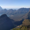 -- Panorama of Blyde River Canyon and The Three Rondavels