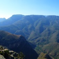 -- Panorama near Blyde River Canyon