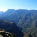 -- Panorama near Blyde River Canyon