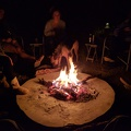 -- Fire at our lodge