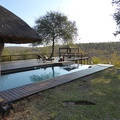 -- Pool and surrounding of the lodge