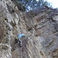 -- Crux pitch of the South-West ridge route