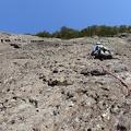 -- Great slabs in the upper part of Batrunner