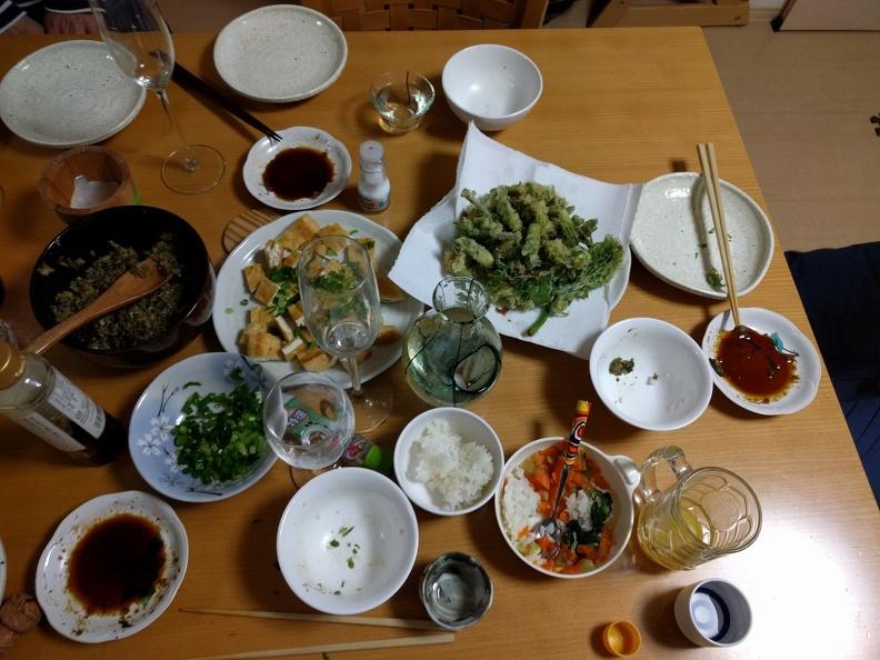 Dinner impression
