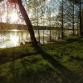 2017-04-30 19.09.40.jpg -- Sunset along the lake