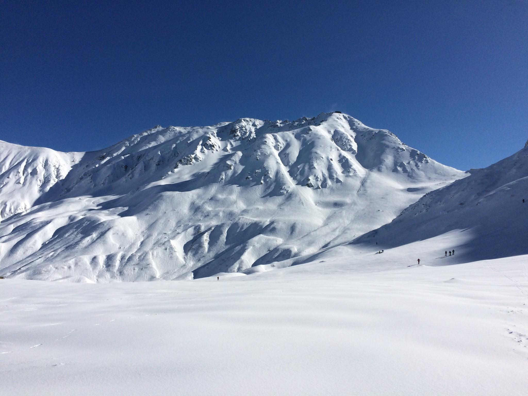 こんシーズンの初滑り:立山