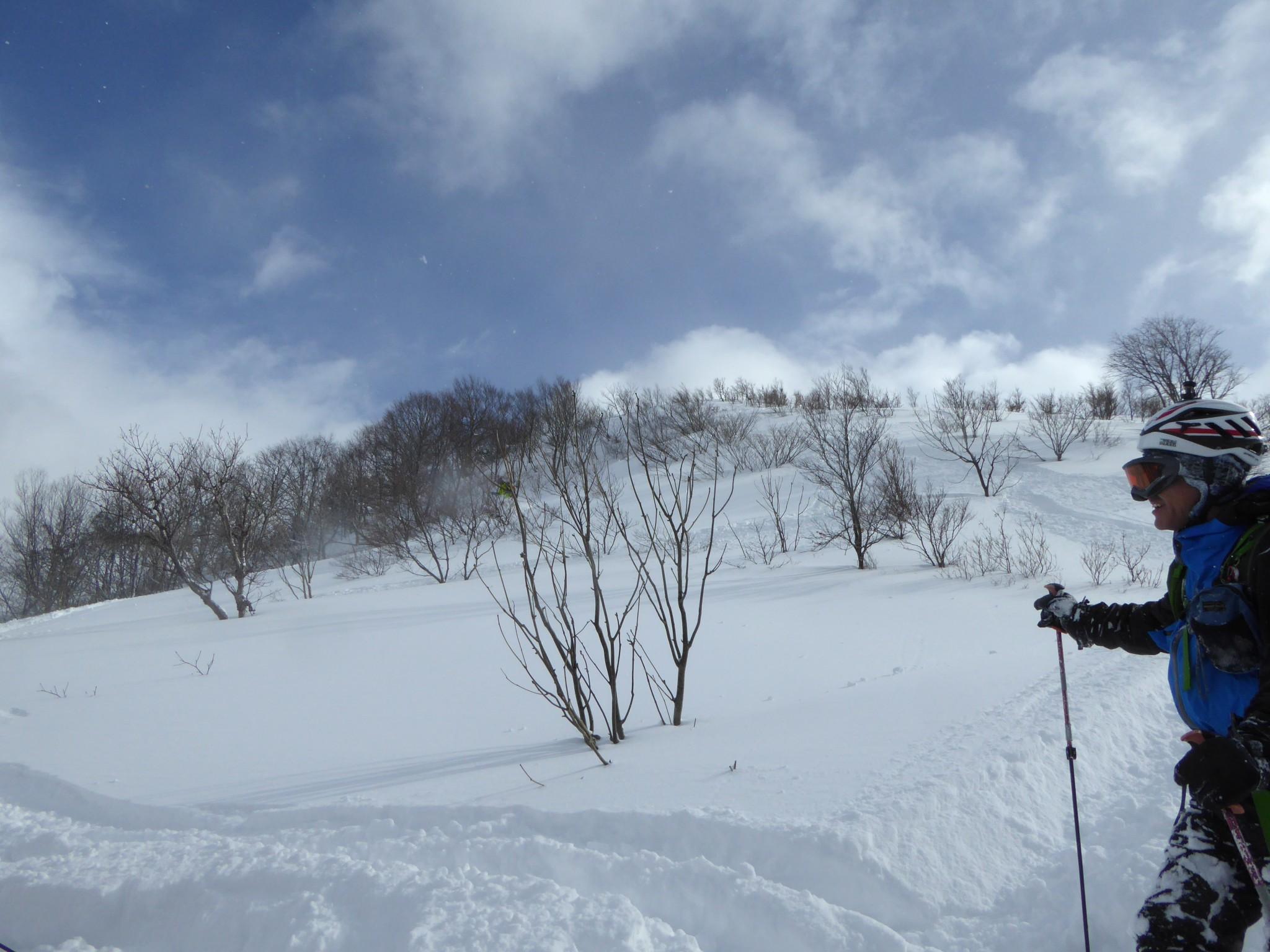 山スキー:仁王山
