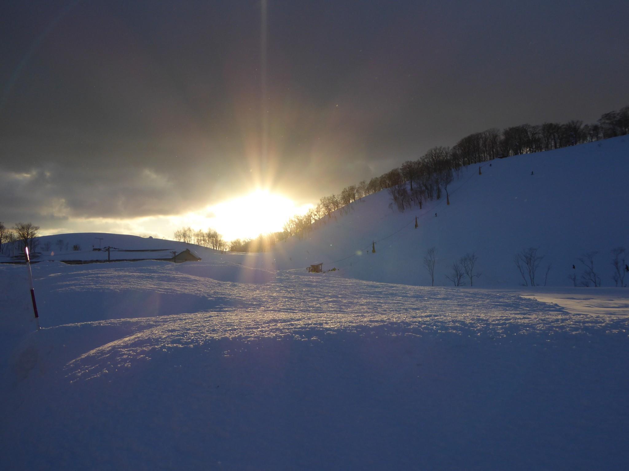 ニセコのバックカントリー:羊蹄山 (Ski touring in Niseko – Yoteisan)
