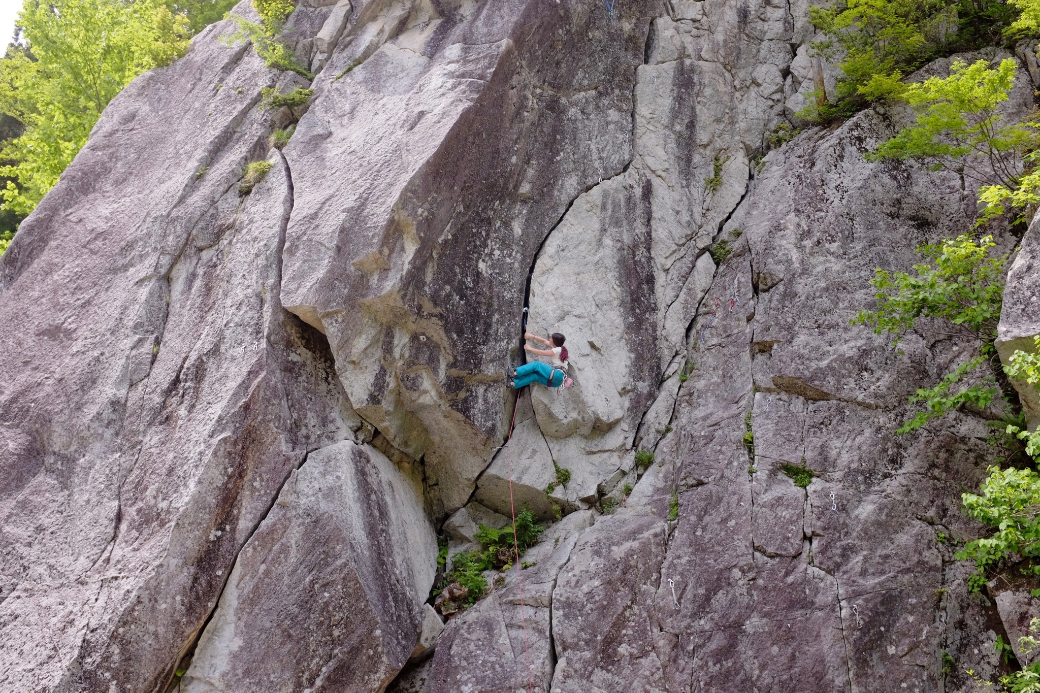 クライミング 雑穀谷 (Climbing Zakkokutani)