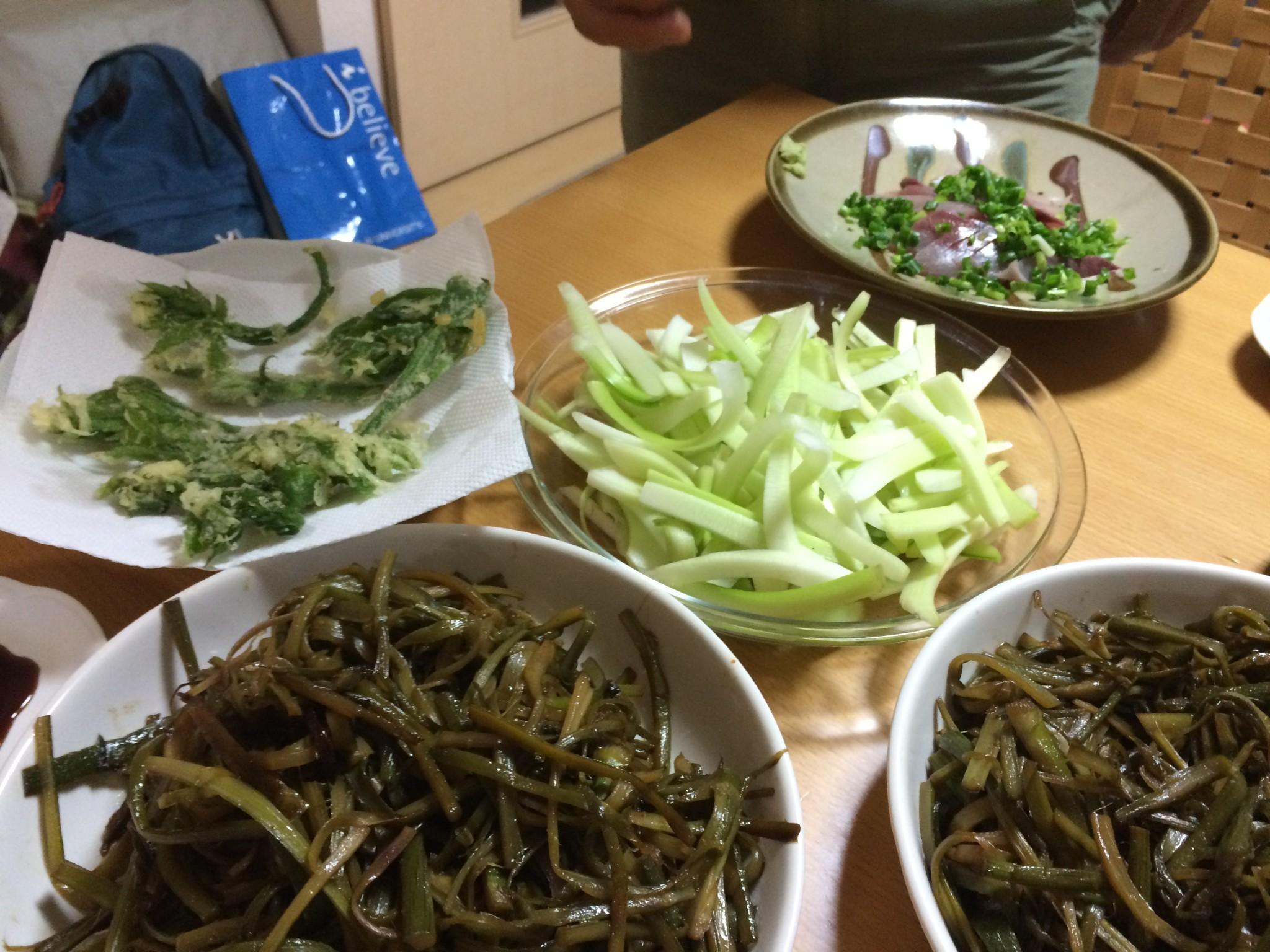 山菜の季節
